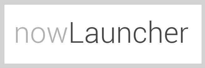 nowLauncher interessante progetto opensource per android