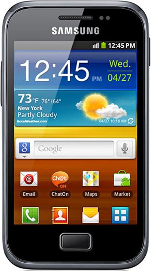 Restoring the original ROM on a Samsung Ace Plus GT-S7500