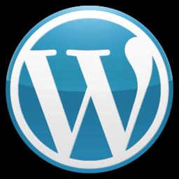 Wordpress_Blue_logo_256